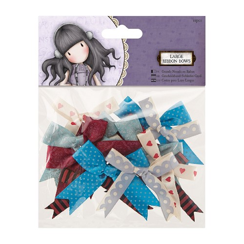 Large Ribbon Bows (12pcs) - Santoro