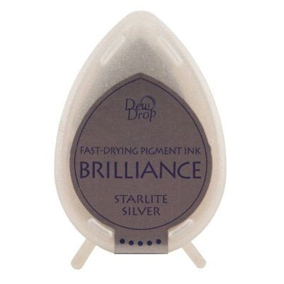 "Brilliance Dew Drops inkpads ""Starlight silver"""