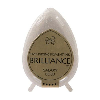 Brilliance Dew Drops inkpads Galaxy gold