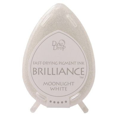 Brilliance Dew Drops inkpads Moonlight white