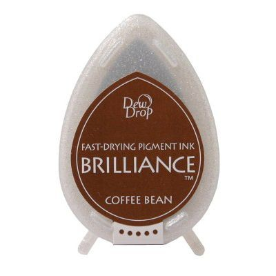 Brilliance Dew Drops inkpads Coffee Bean