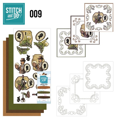 Stitch and Do 9 - Wine and beer