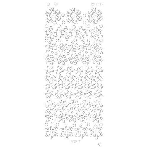 Snowflakes Platinum - Goud