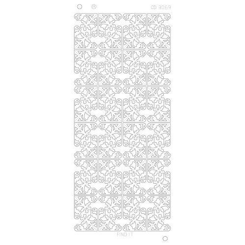 Flower Corners Platinum - Goud