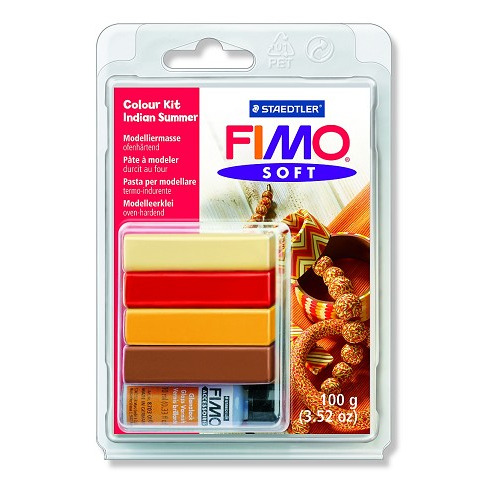 Fimo soft Colour Kit - Indian Summer
