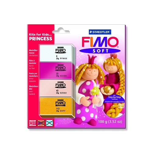 Fimo soft set - Kits for Kids prinsessen