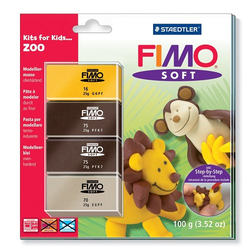 Fimo soft set - Kits for Kids Zoo