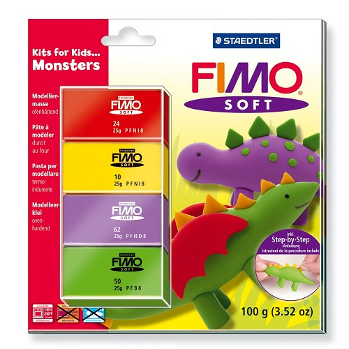 Fimo soft set - Kits for Kids Monsters