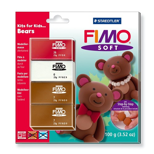 Fimo soft set - Kits for Kids Beren