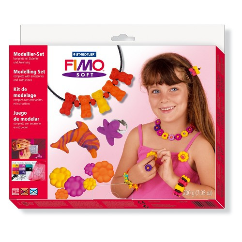 Fimo soft set - star model 8 halve blokken