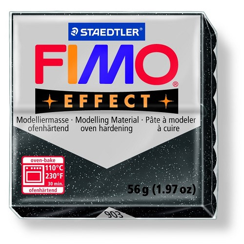 Fimo effect boetseerklei 56 g sterrenwolk