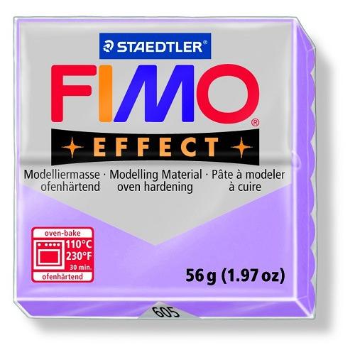 Fimo effect boetseerklei 56 g lila