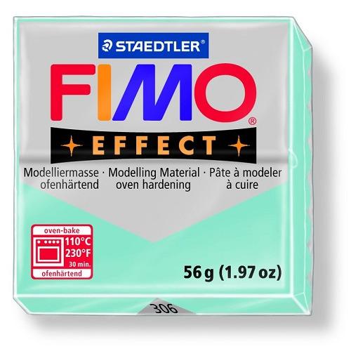 Fimo effect boetseerklei 56 g blue ice quartz