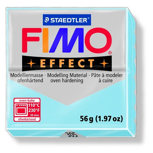 Fimo effect boetseerklei 56 g aqua