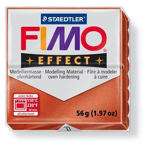 Fimo effect boetseerklei 56 g koper