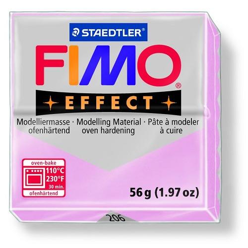 Fimo effect boetseerklei 56 g rose quartz