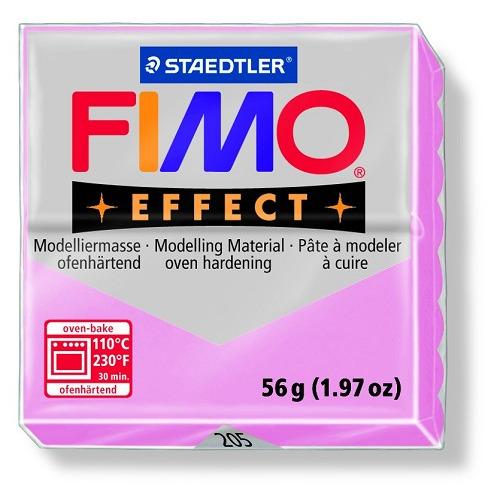 Fimo effect boetseerklei 56 g lichtrose