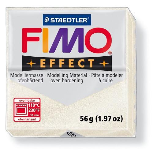Fimo effect boetseerklei 56 g metallic parelmoer