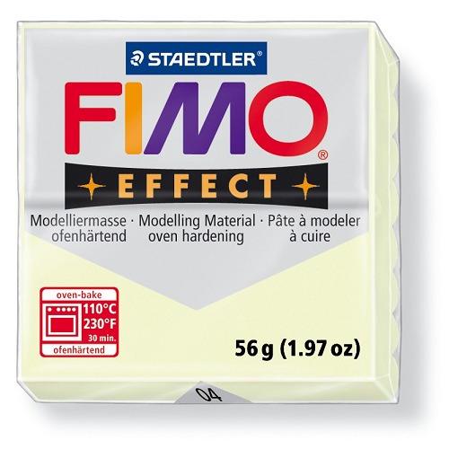 Fimo effect boetseerklei 56 g nachtlichtend