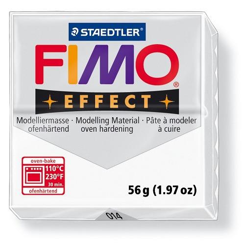 Fimo effect boetseerklei 56 g transparant kleurloos