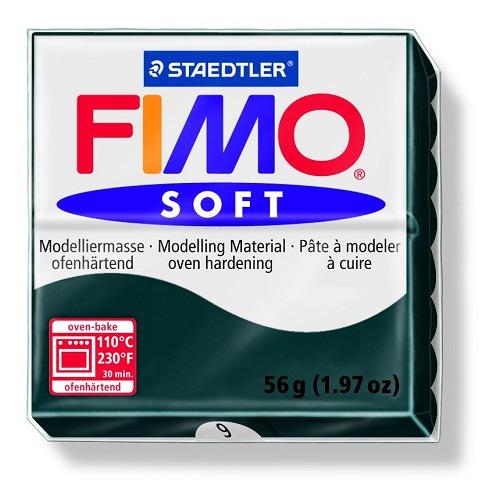 Fimo soft boetseerklei 56 g zwart