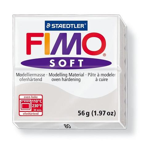 Fimo soft boetseerklei 56 g dolfijngrijs