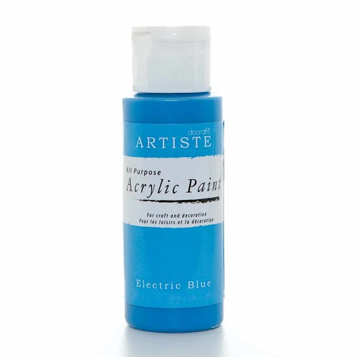 2OZ ACRYLIC PAINT - ELECTRIC BLUE