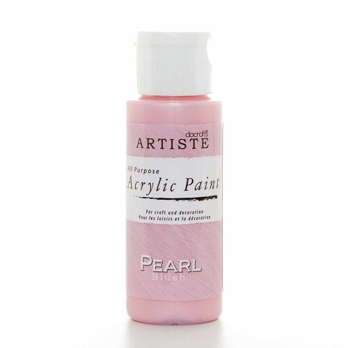 2OZ SPECIALITY PEARLESCENT PAINT - PEARL BLUSH