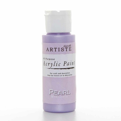 2OZ SPECIALITY PEARLESCENT PAINT - PEARL WISTERIA