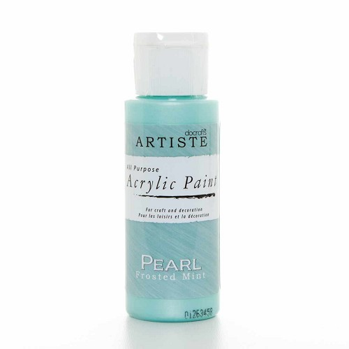 2OZ SPECIALITY PEARLESCENT PAINT - PEARL FROSTED MINT