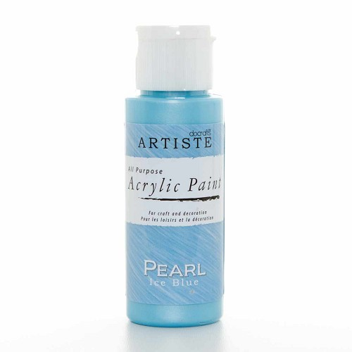 2OZ SPECIALITY PEARLESCENT PAINT - PEARL ICE BLUE