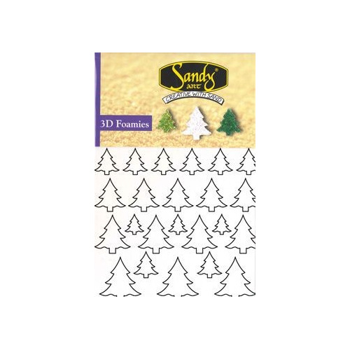 Sandy Art® 3D Foamies trees