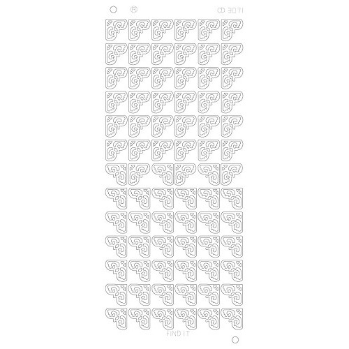 Corners 2 Platinum - Zilver