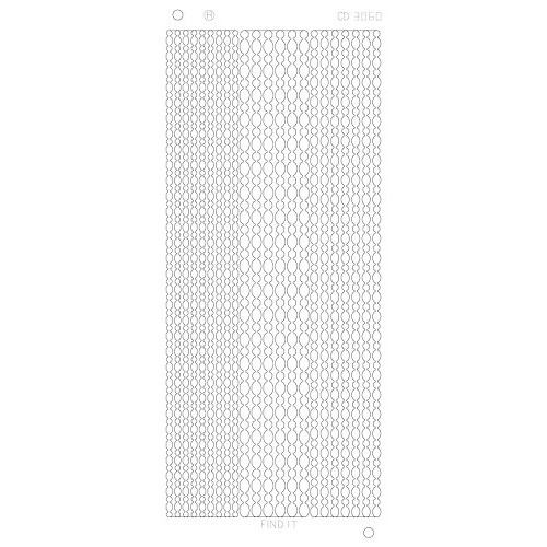 Dot Lines Platinum - Zilver