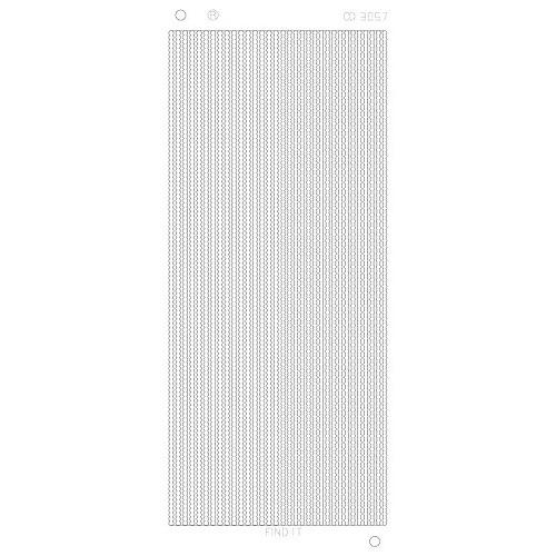 Pearl Lines Platinum - Zilver