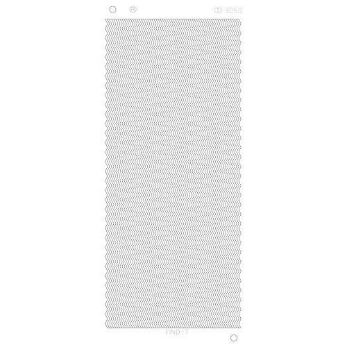 Zig-zag lijnen Platinum - Zilver