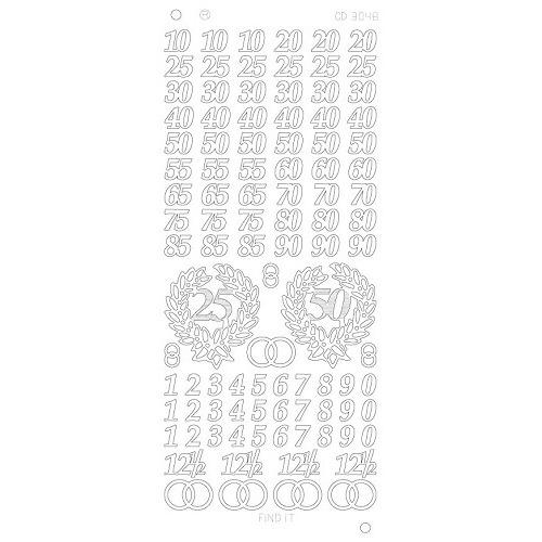 Jubileum Platinum - Zilver