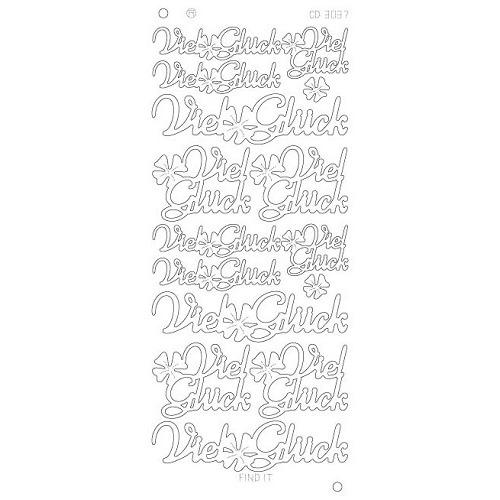 Viel Gluck platinum - Zilver