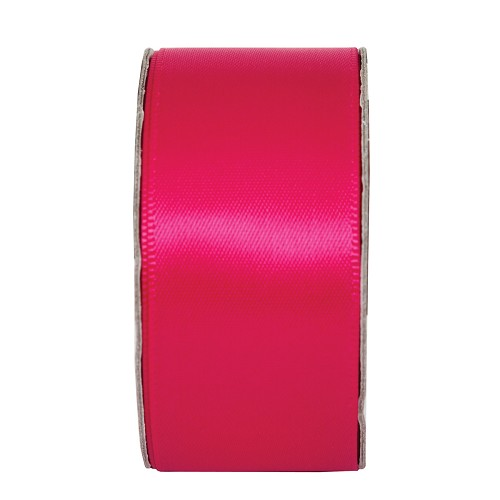 3MTR. RIBBON - WIDE SATIN - FUCHSIA