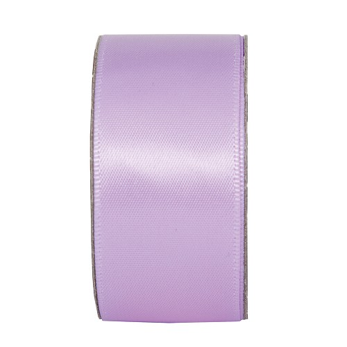 3MTR. RIBBON - WIDE SATIN - LILAC MIST