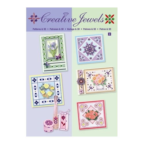 Creative Jewels patternbook flowers