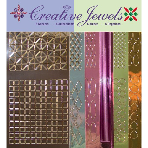 Creative Jewels stickerset - Mirror