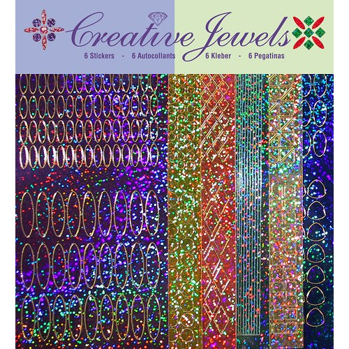 Creative Jewels stickerset - Diamant