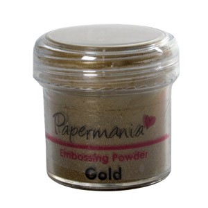 EMBOSSING POWDER 1 OZ GOLD - 28 Gram