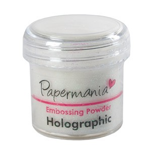 EMBOSSING POWDER 1 OZ HOLOGRAPHIC - 28 Gram