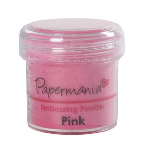 EMBOSSING POWDER 1 OZ PINK - 28 Gram