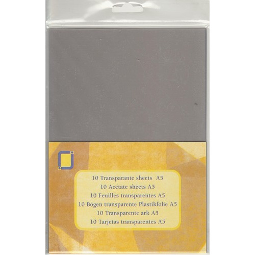 Transparante sheets Mica A5
