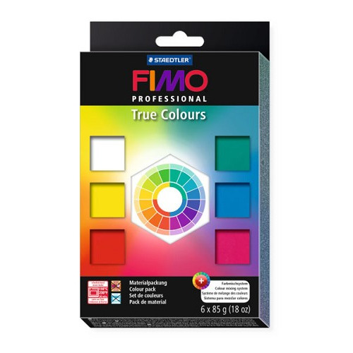 Fimo Professional Colour Pack True Colours