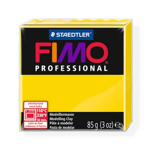 Fimo Professional 85g echt geel