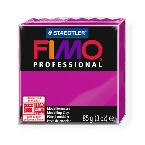 Fimo Professional 85g echt magenta